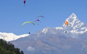 Frontiers Paragliding Nepal