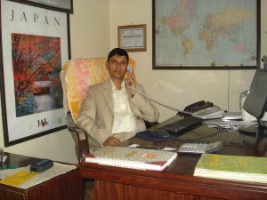 Director of Pigeon Travel & Tours Pvt Ltd Kathmandu Nepal