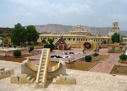 Jantar Mantar Observatory in Jaypur India